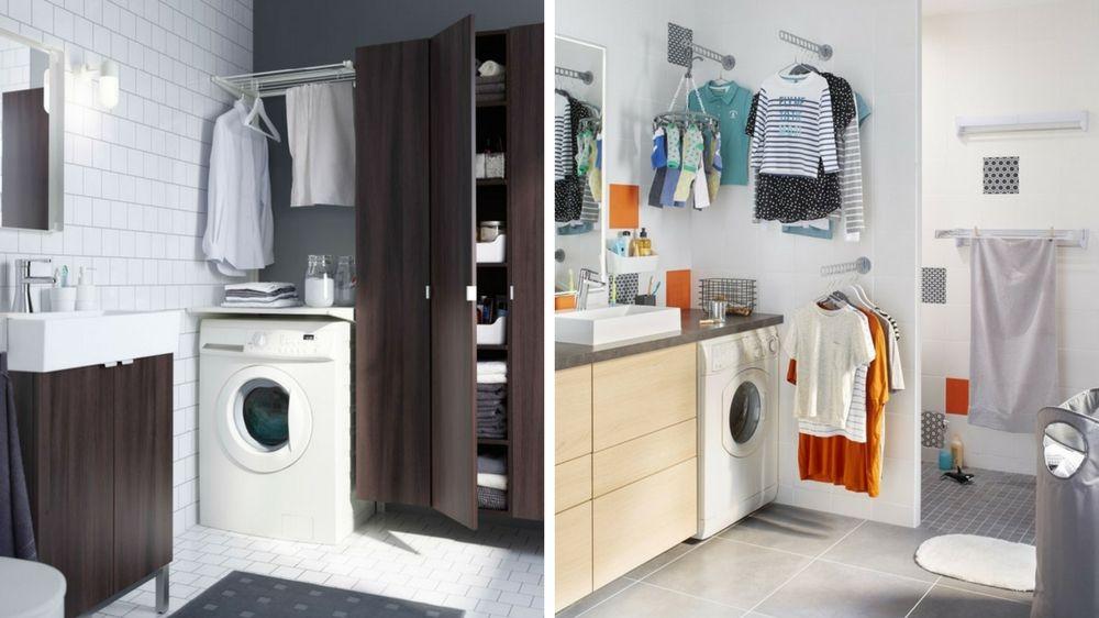 Comment survivre sans buanderie dans un petit appartement ?