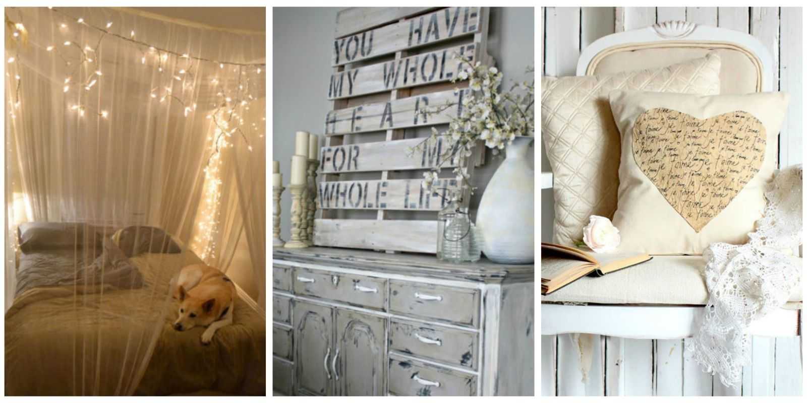 Turn Your Bedroom Into A Cozy Love Nest With These DIY Projects.