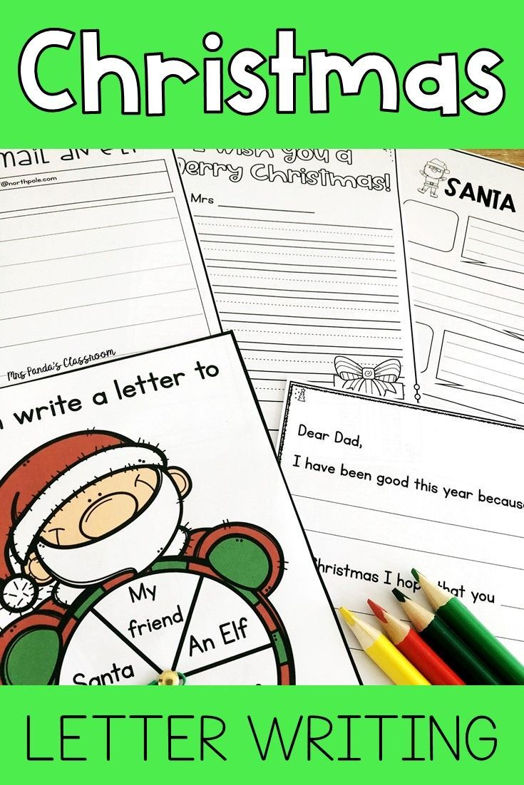 Christmas Letter Writing Christmas Letter Templates