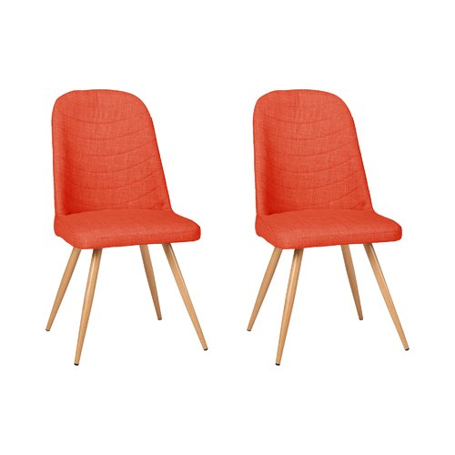 Burkey Upholstered Dining Chair Set Of 2 Norden Home Upholstery
