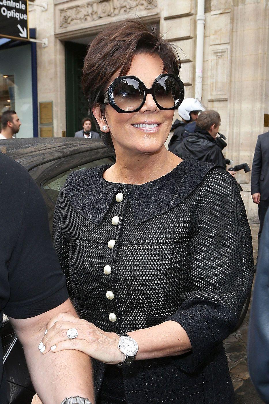 8562745a40ea Kris Jenner over-sized Sunglasses. Kris Jenner over-sized Sunglasses  Kardashian Mom