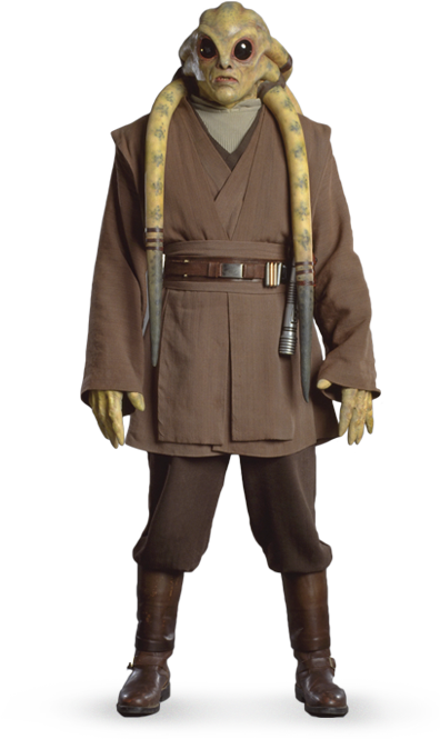 Kit Fisto - Another Jedi who I am contemplating doing the ...