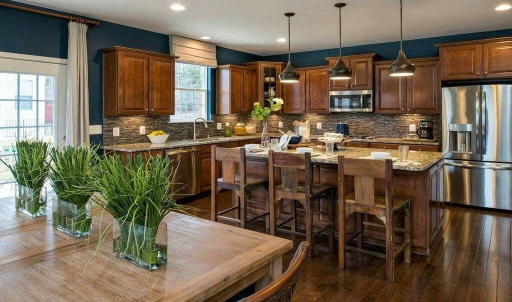 Warm wood kitchen Craftsman kitchen, Kitchen