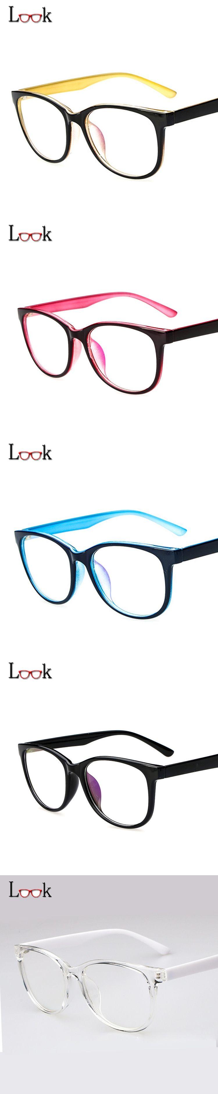 ef454709a70b 2017 Fashion Ultra Light Can Be Bent Optical Glasses Frame Women Men Clear  Computer Glasses Prescription