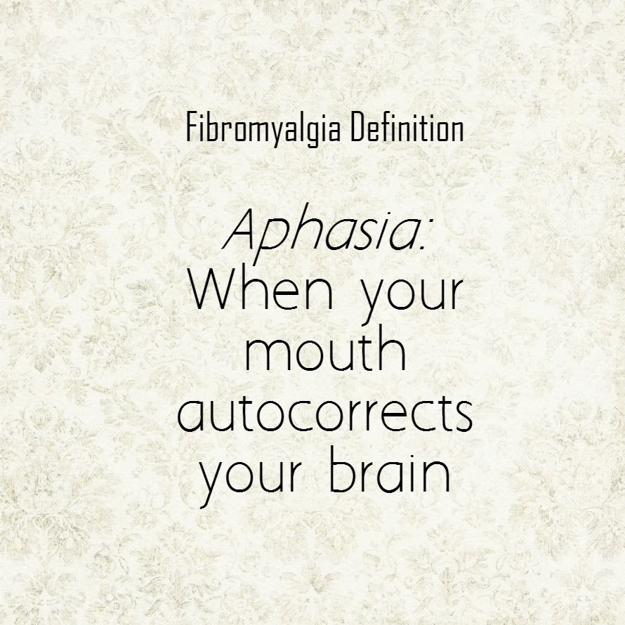 fibromyalgia definition aphasia | chronic illness | pinterest, Skeleton