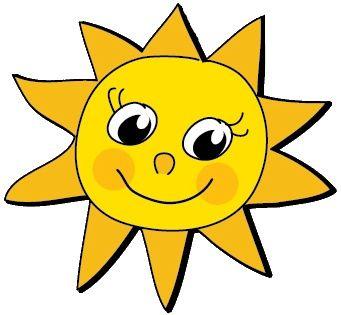 Výsledek obrázku pro sluníčko kreslené
