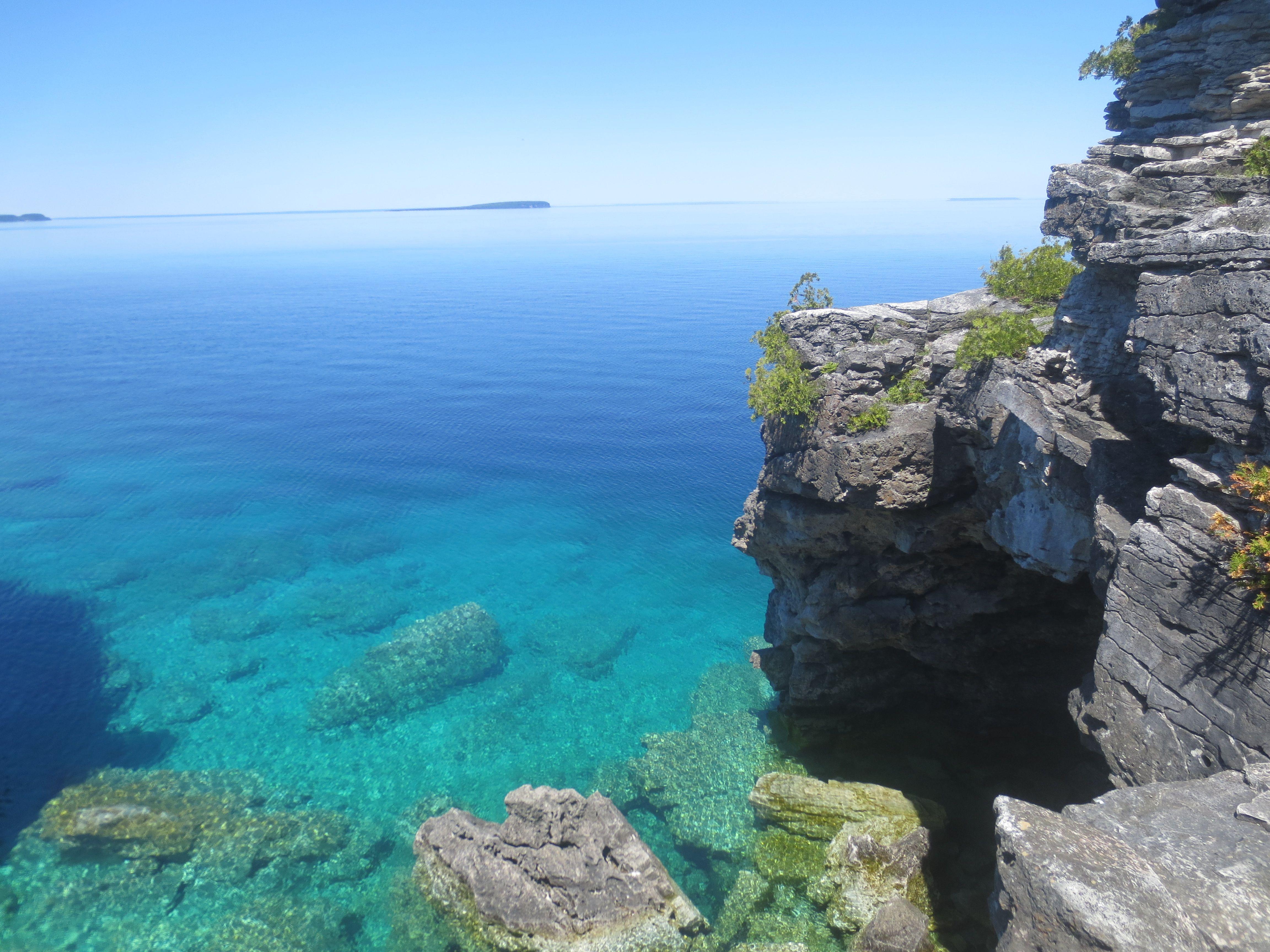 Bruce peninsula national park ontario canada oc 4608