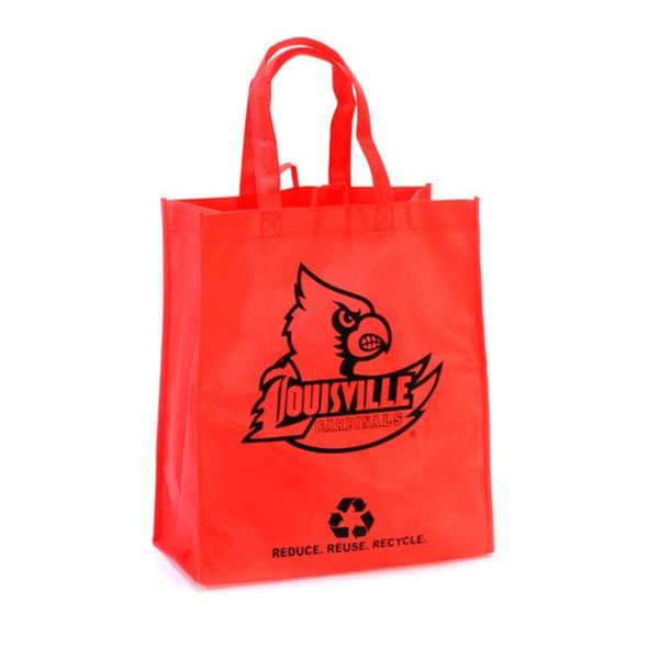 Louisville Cardinals Red Reusable Tote Bag - $2.49