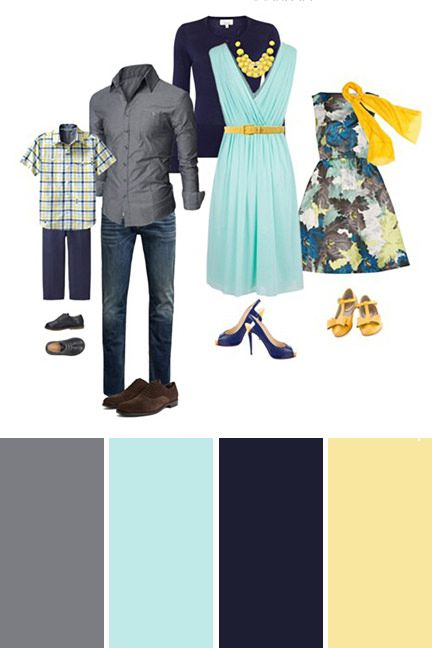 What to Wear for Spring Family Pictures #familyphotooutfits