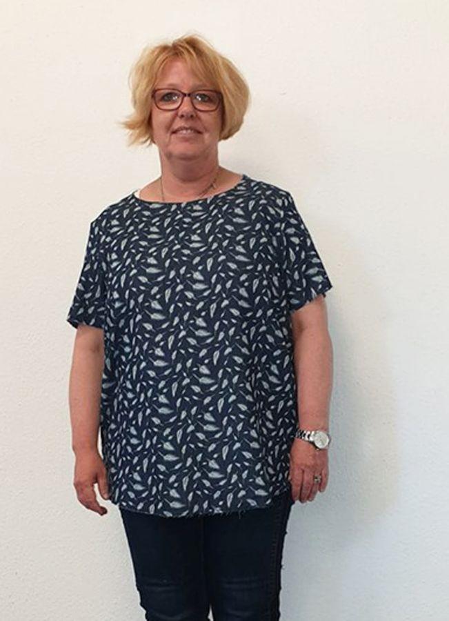 Schnittmuster Shirtbluse Nellie XL von Miou Miou
