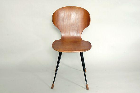 Sedie Jacobsen ~ Sedia in legno curvato 1955 carlo ratti legni curvati