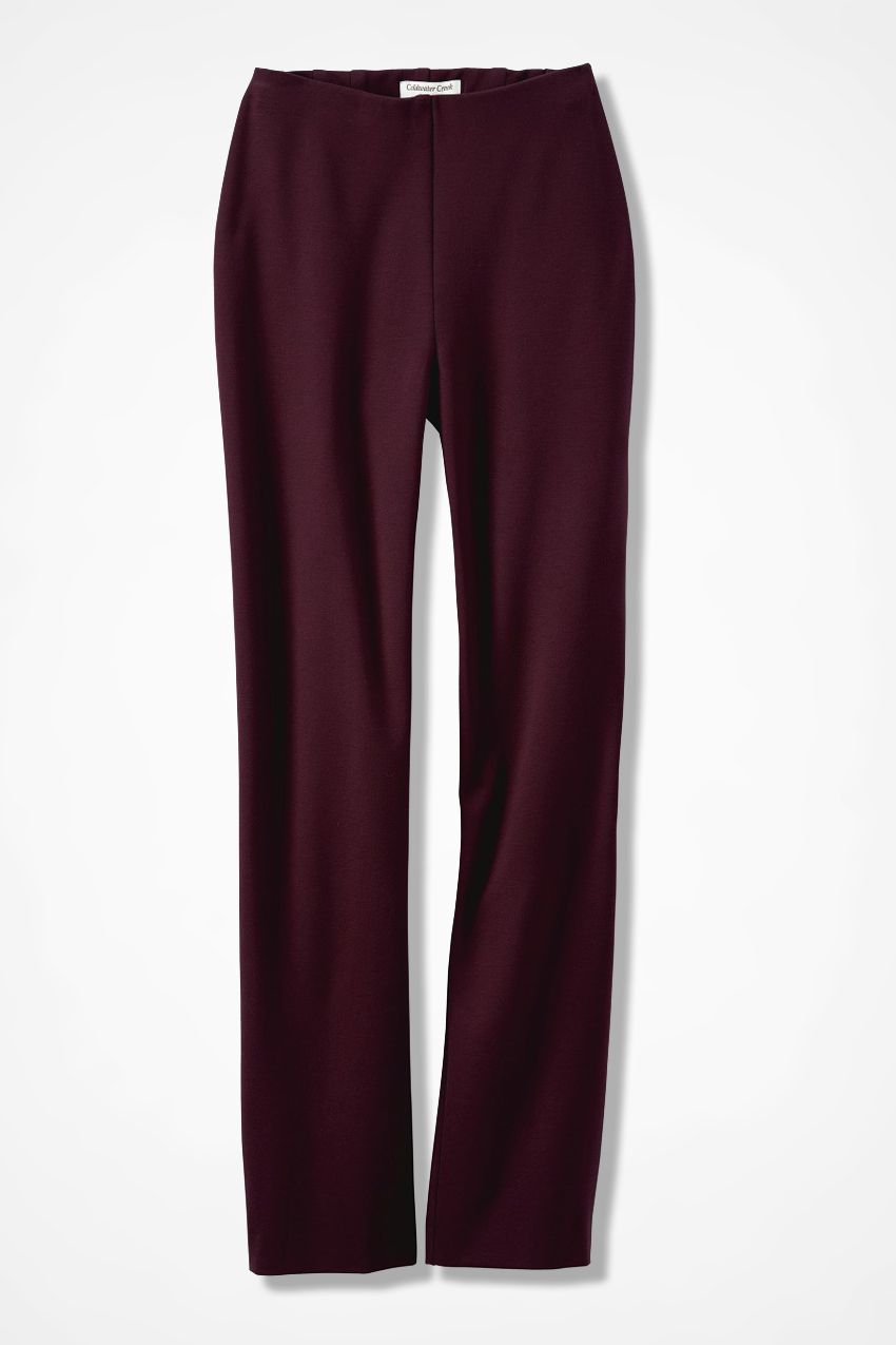 Ponte Perfect® Holly Pants, Cassis