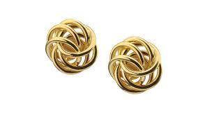 cdf39aa63344 Resultado de imagen para aretes de oro para mujer argollas
