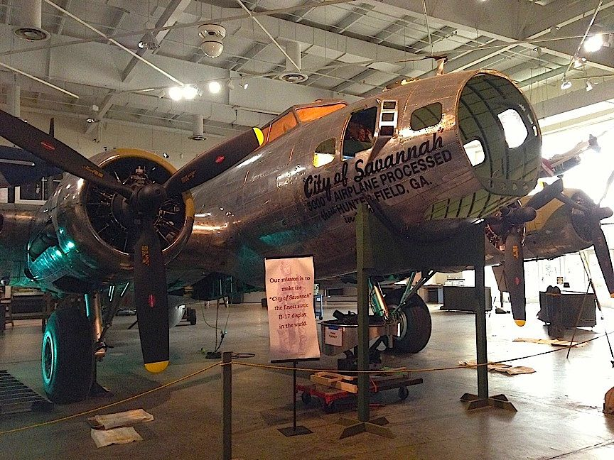 I was enchanted by the Mighty Eighth Air Force Museum in