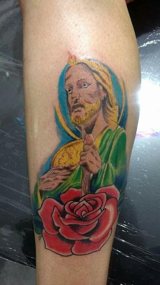 Tatuajes De San Judas Tadeo En El Antebrazo