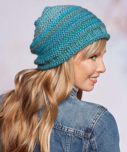 ... free crochet and knitting patterns! Simple Style Hat modèle de tricot  gratuit d585fd9caeb