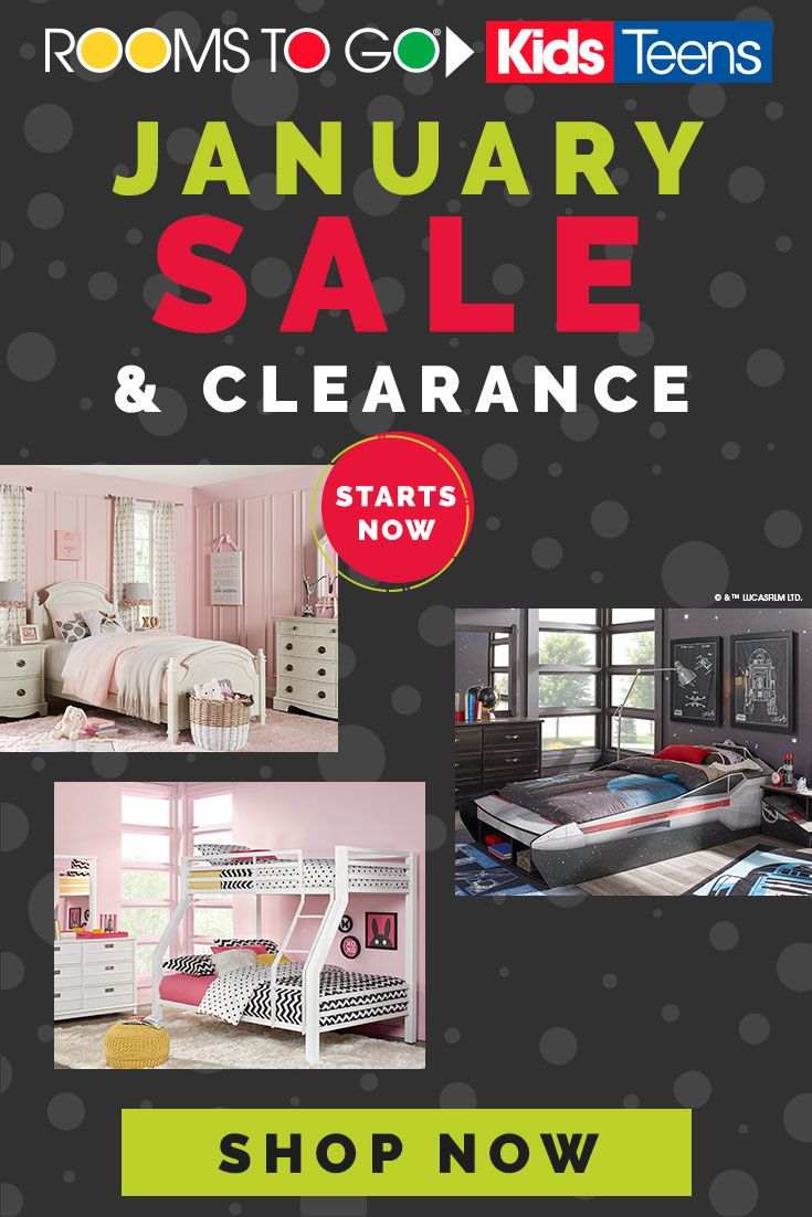 Revamp your kid's space for 2019 with our January Sale and