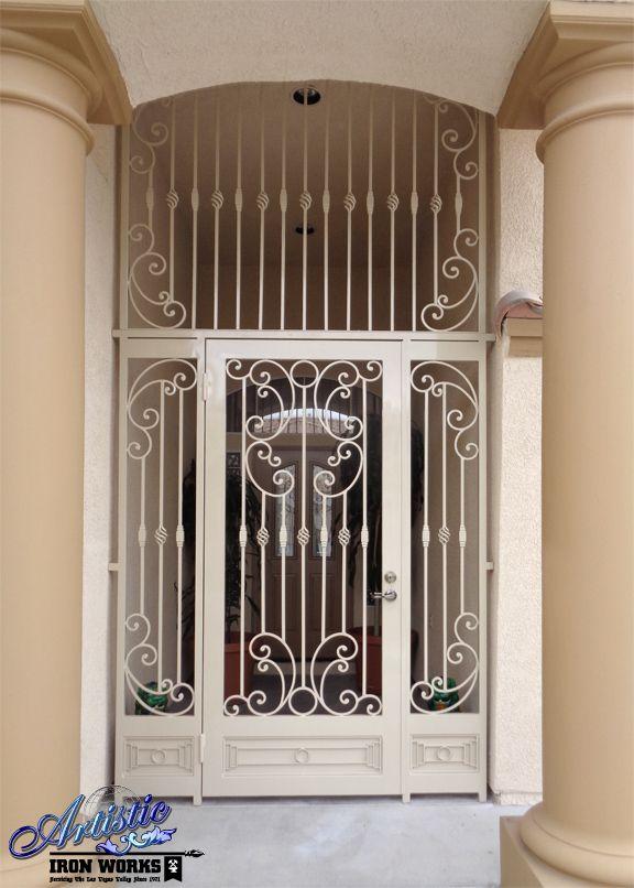 Iron Entryway Gates