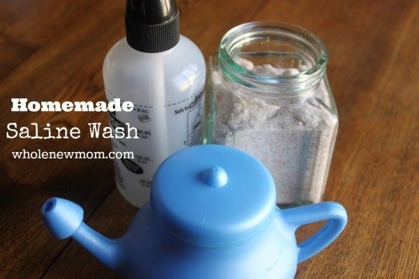 Cold, sniffles, or allergies got you down? Saline washes are a great way to treat them, but buying those premade salt packets will break the bank. Make your own saline wash--save money--and feel better!