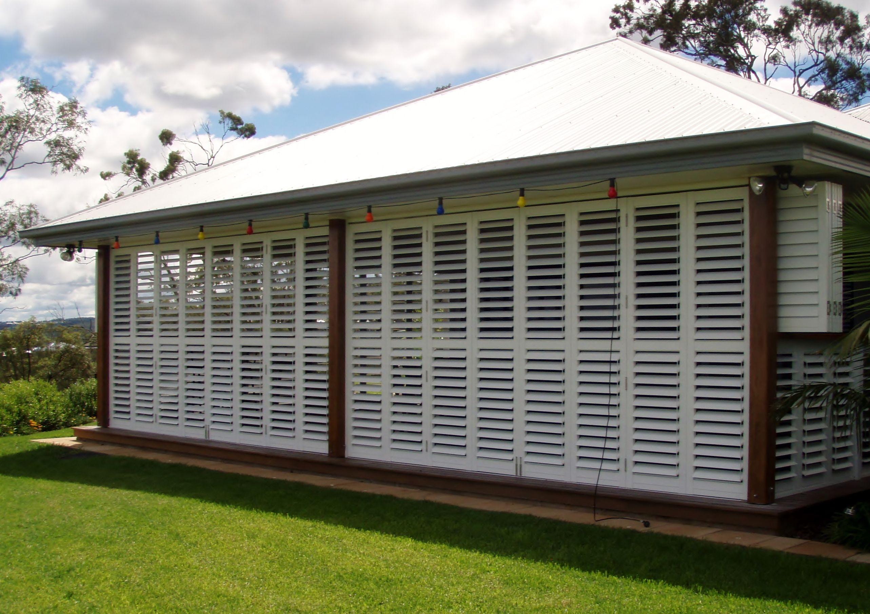 Adjustable Aluminium Shutters Outdoor shutters, Enclosed