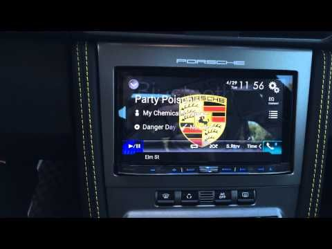 2008 Porsche 997 Alpine INE-W927HD PCM Navigation Upgrade