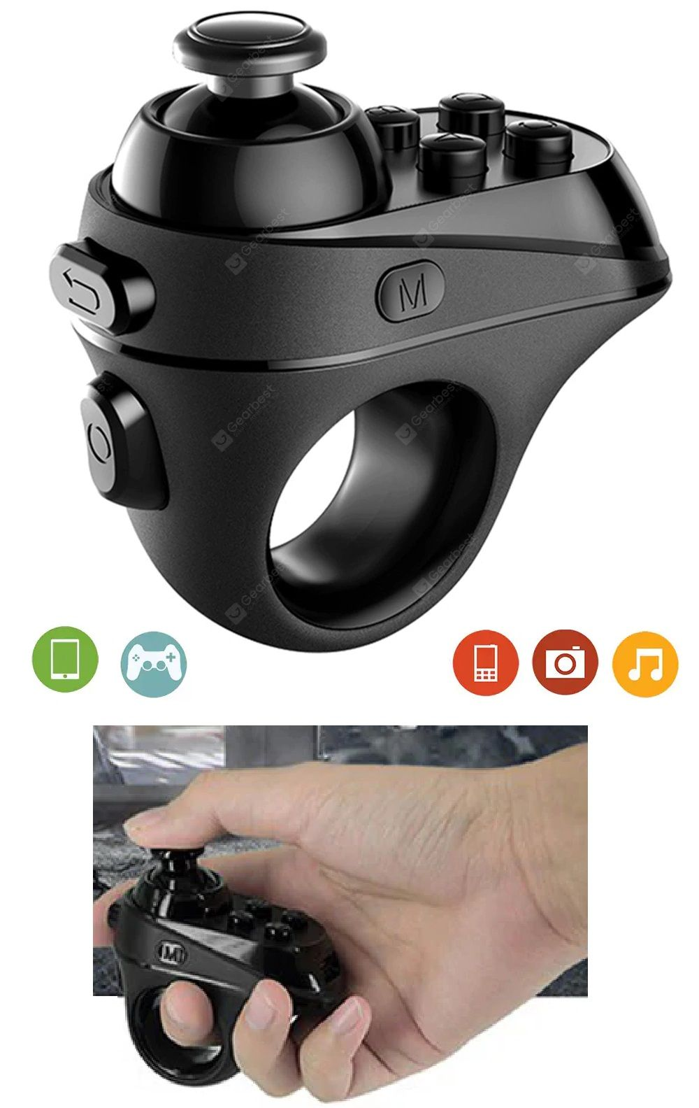 Wireless Game Pad Bluetooth Remote Controller Gamepad
