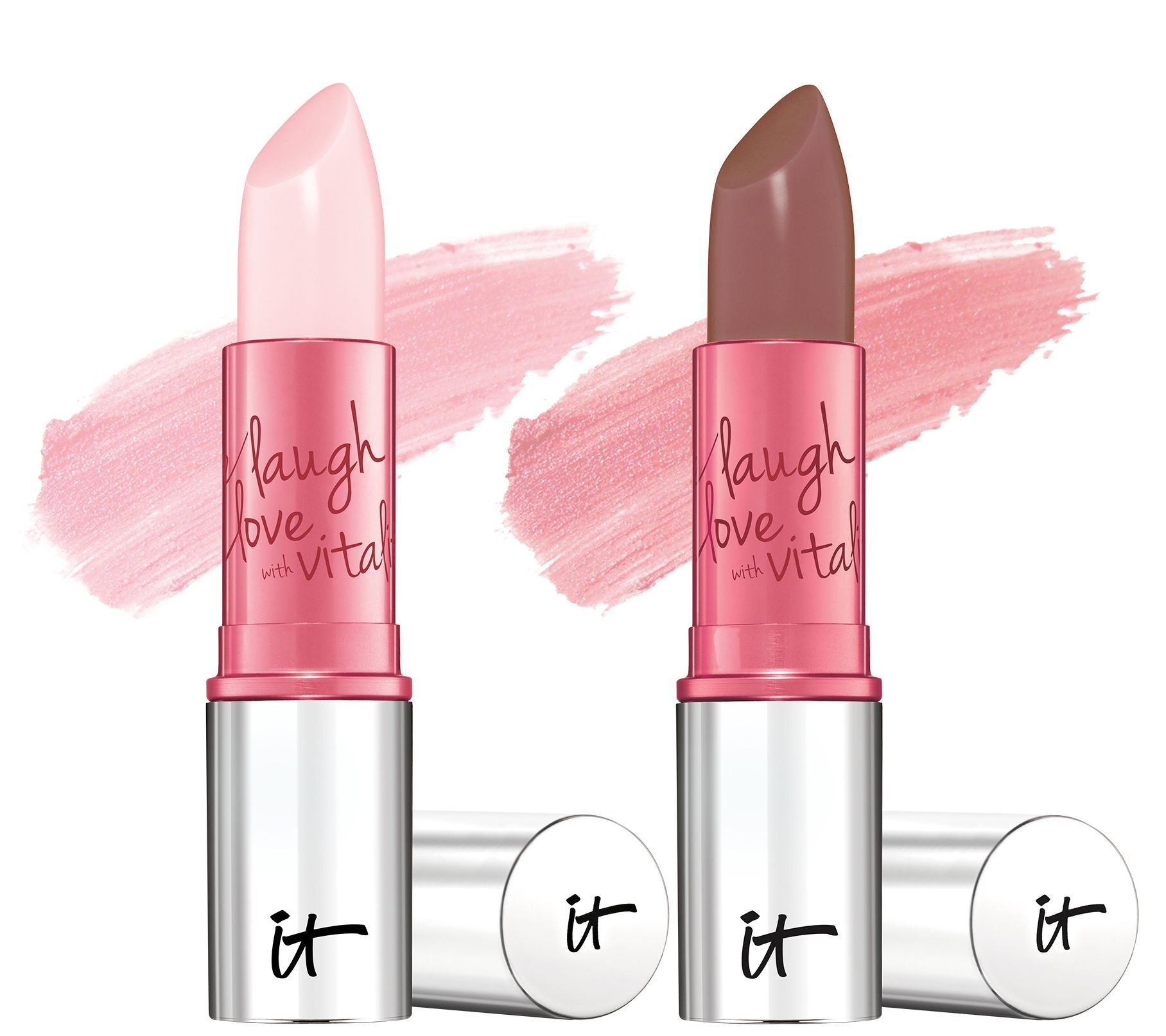IT Cosmetics Vitality Lip Flush 4in1 Lipstick Stain Duo