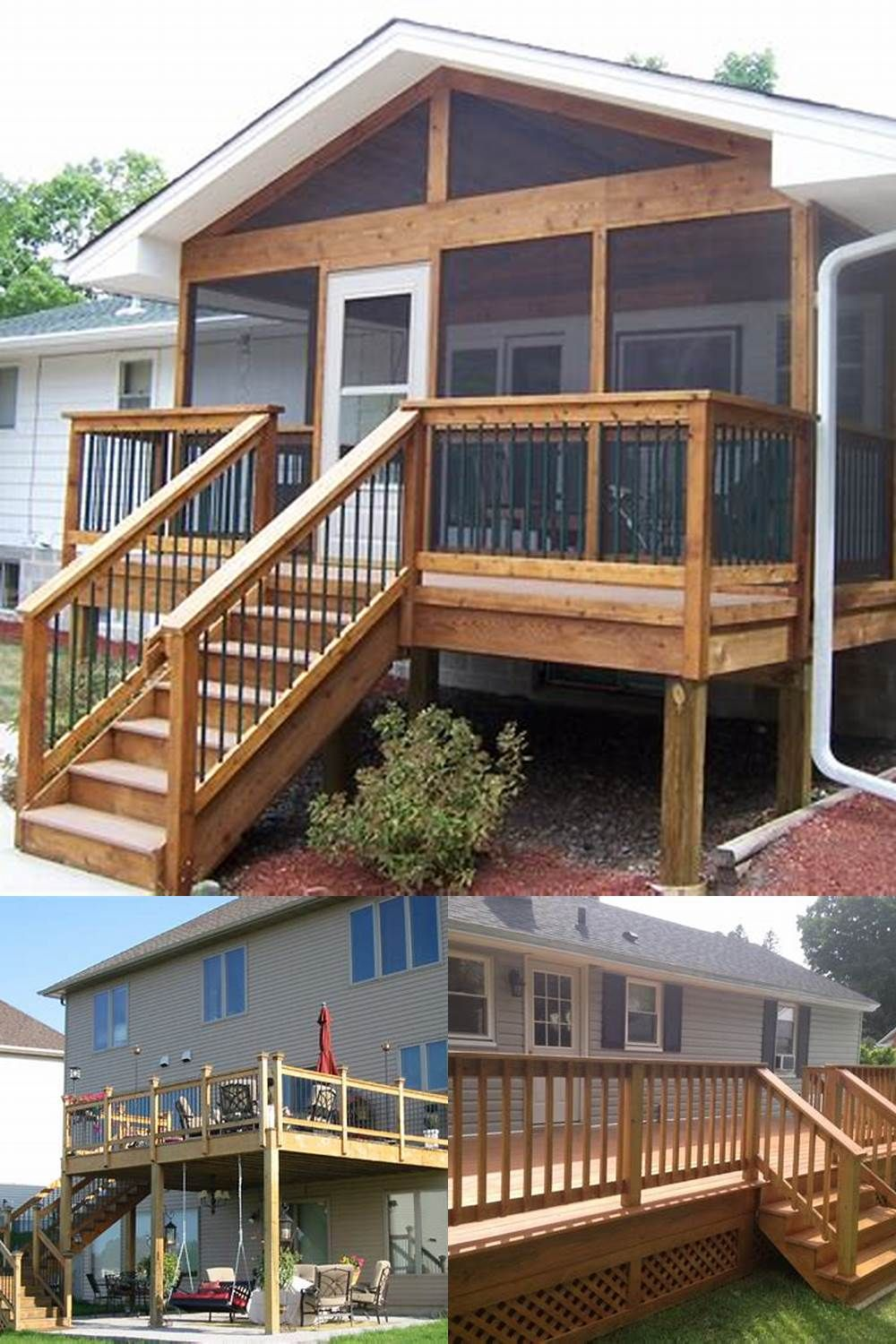 Deck Plan These Free Deck Plans Will Certainly Assist You Develop The Deck Of Your Desires With A Bit Of Know How And Some Hard Wo Deck Plans Deck Cool Deck