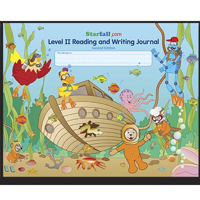 Level II Reading and Writing Journal Starfall Store