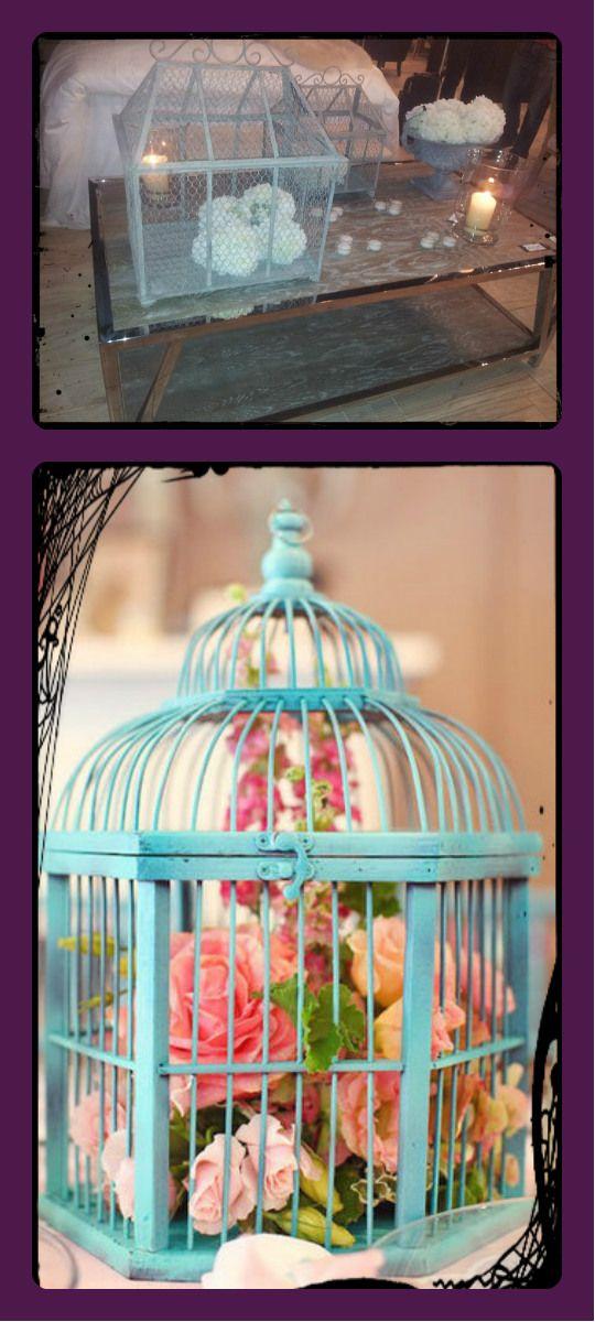 jaula invernadero mesa centro. decoracion original y diferente