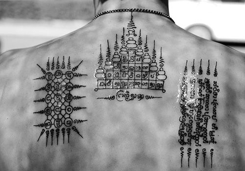 Buddhist Tattoos for Protection   protection tattoo   Buddhism ...