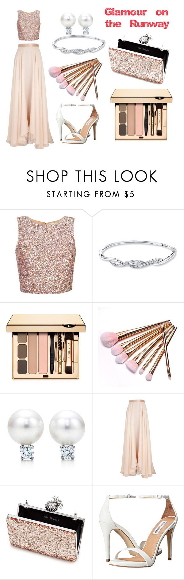"""Glamour on the Runway"" by lana-246 ❤ liked on Polyvore featuring Lanvin, Miss Selfridge and Steve Madden"