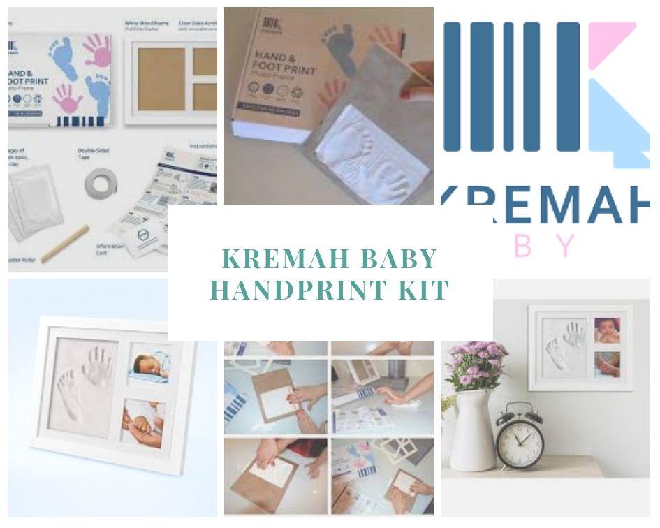 KREMAH BABY Company produce baby handprint kit set. This