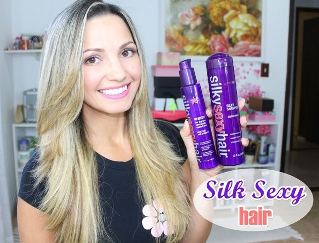 Resenha da semana no blog! ✨Silk Sexy Hair. Quem já usou alguma coisa dessa marca?  www.euvouderosa.com  #resenhadasemana  #euvouderosa #sexyhair