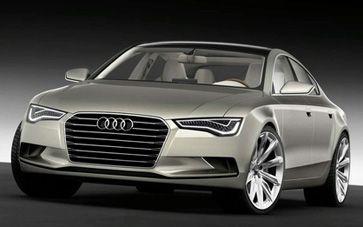 Audi A7 Sportback Car Xenon Plus Headlights With Led Daytime