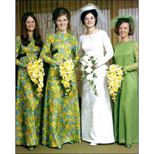 Wedding Photos & Fashions From The Past 100 Years