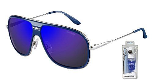Carrera 88/S Rectangular Sunglasses Bundle-2 Items