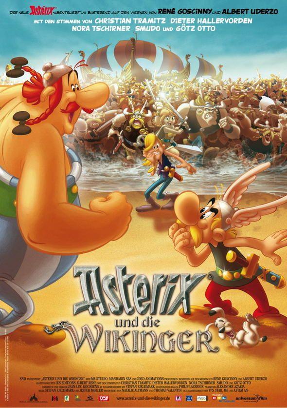 Asterix Und Die Wikinger Movie 93 Comic S Cartoon S Zeichentrick
