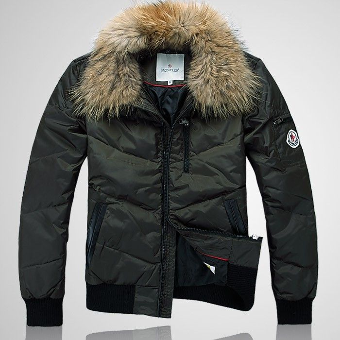 moncler army green jacket