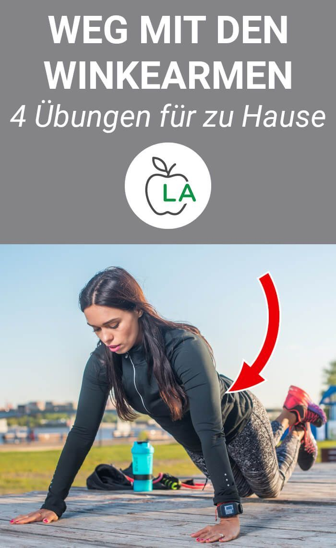 Übungen gegen Winkearme – 28 Tage Challenge zum Oberarme Straffen