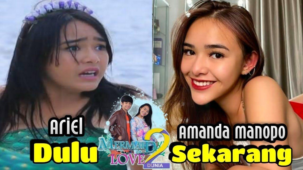 Pemeran Nama Asli Wajah Pemain Mermaid In Love 2 Dunia Sctv Dulu Sek Wajah Entertainment Video