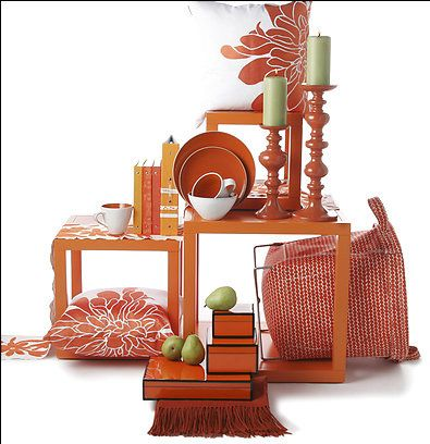 The Washington Post Recommends Decorating With Color Orange All Year To Make Your Home Brighter