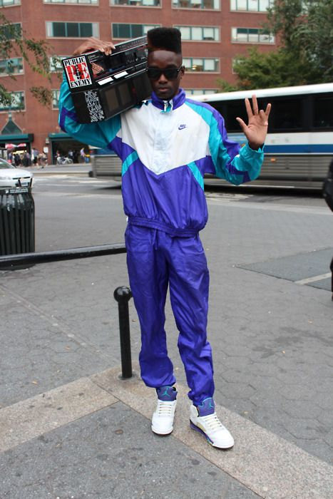 Fresh Prince of Bel Air style spotted in Union Square, New