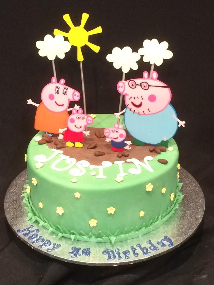 Peppa Pig Birthday Cake by Heidelberg Cakes Adelaide South
