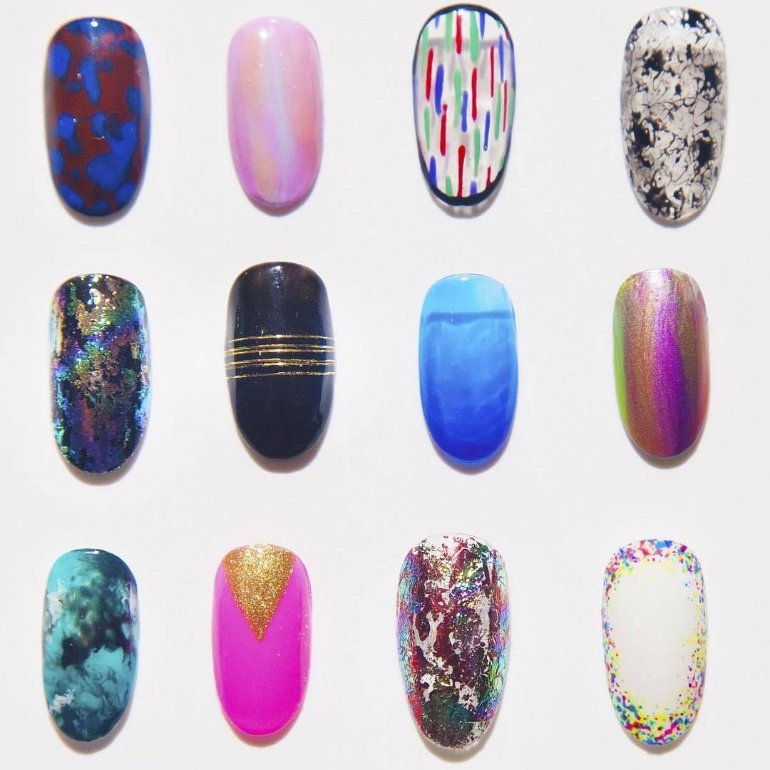 Some of our fun Tier 1 designs at #NAILSWAGDTLA! $80 on natural nails, $100 on extensions! #nailart … – #dtla #gelnail #la