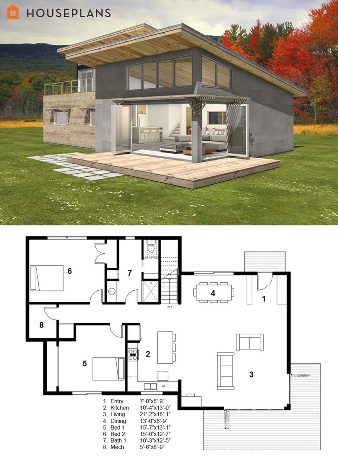 The Best Modern Tiny House Design Small Homes Inspirations No 50 Modern Style House Plans Small Modern Cabin Cabin House Plans