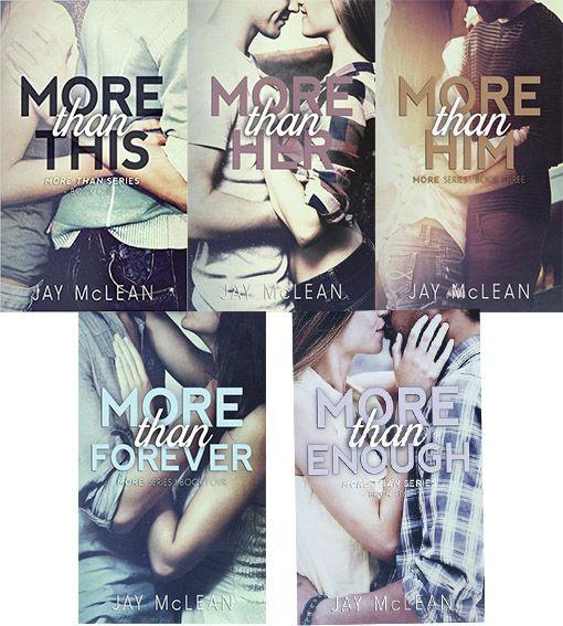 Românticos e Eróticos  Book: Jay McLean - More Than #1 a #5