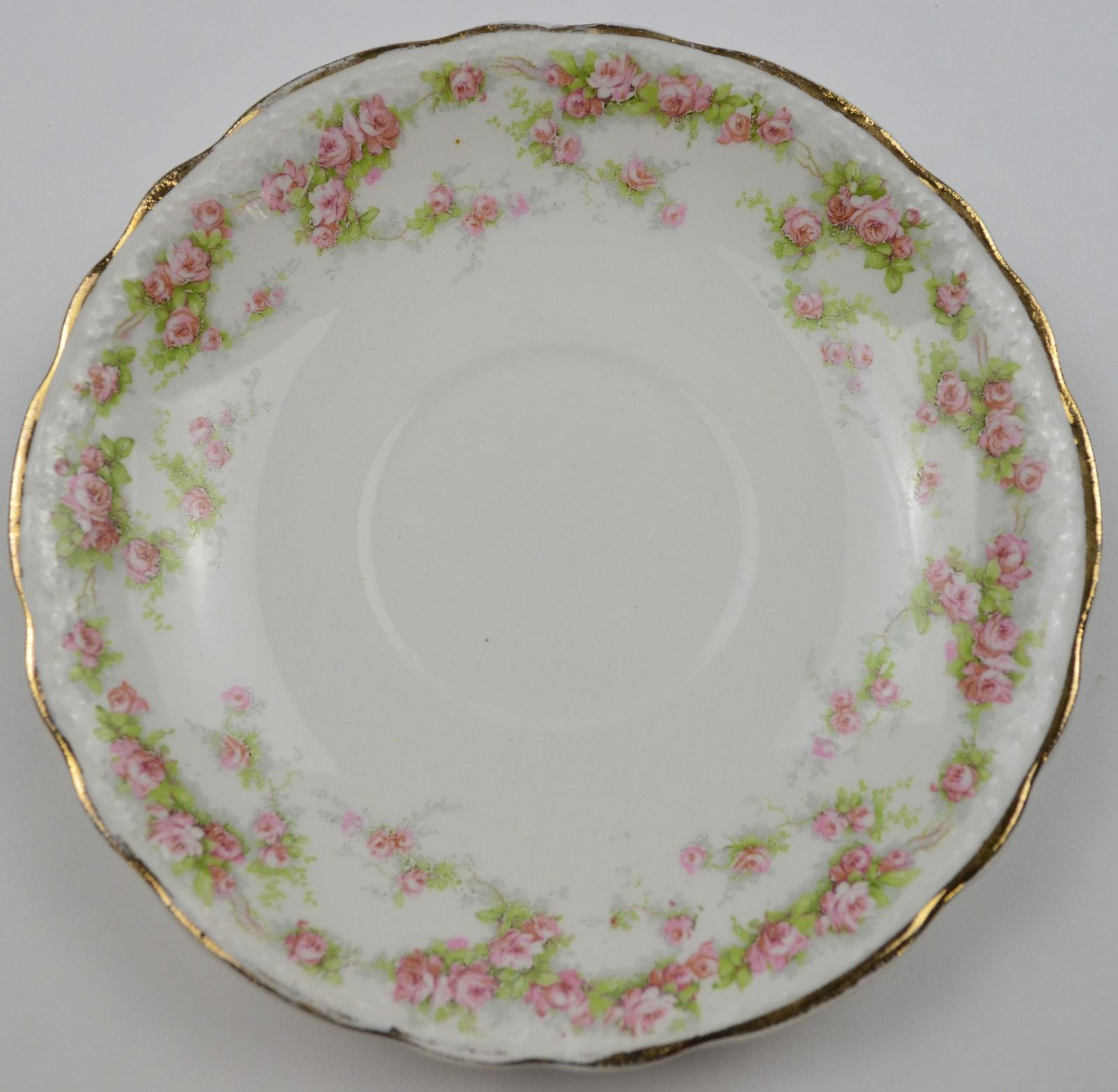 Antique China Patterns Value Vintage Homer Laughlin China Hudson Pink Floral Pattern Flat Cup