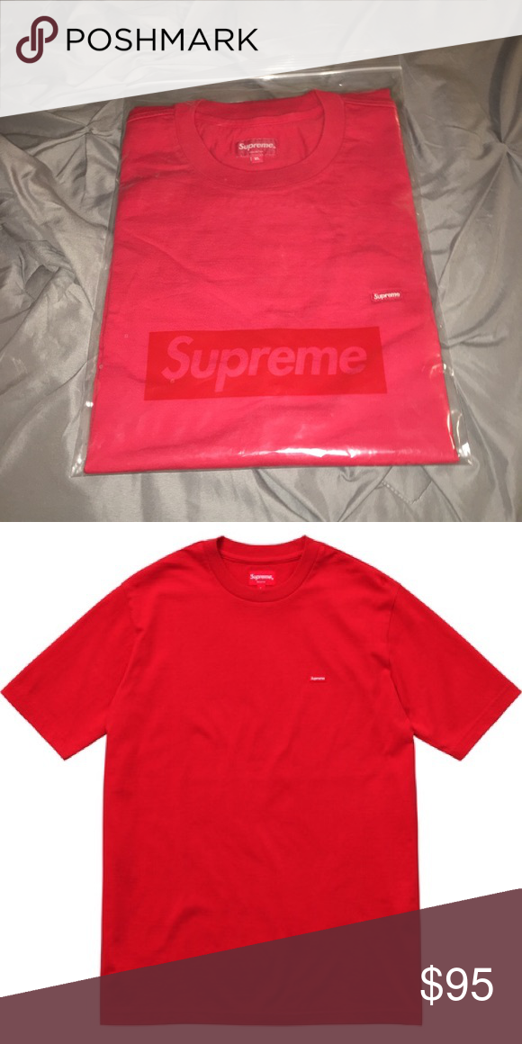 Supreme Shirt Small Box Logo Tee Red Rare XL Purchased from Supreme store.  Never removed from plastic ziploc bag. XL. Red Supreme Shirts Tees - Short  Sleeve e7caa0878a