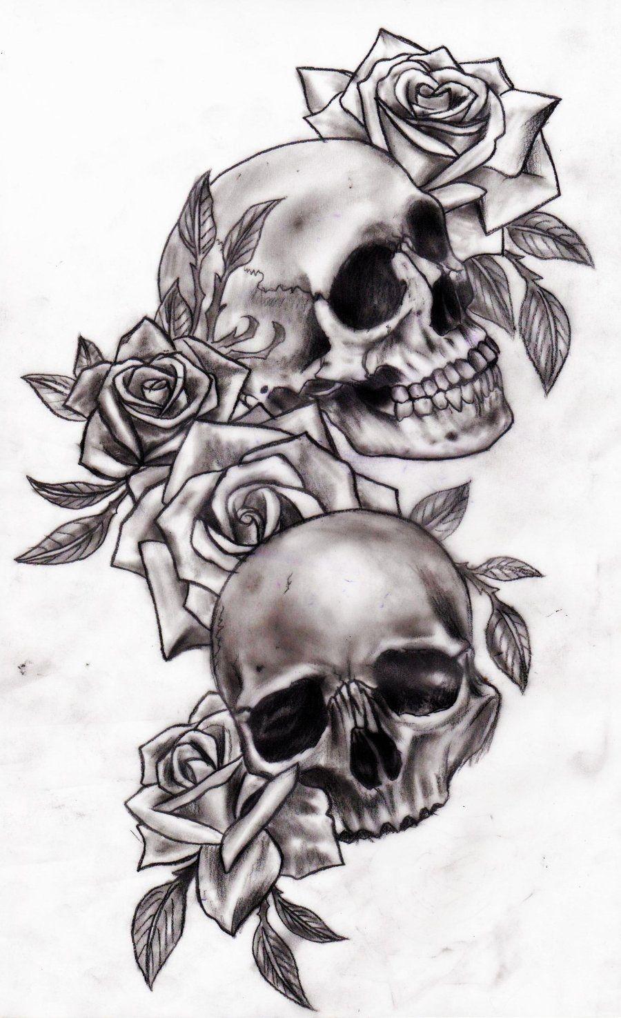 Pin Od Ondrej Feranev Na Kveti Pinterest Czaszki Tatuaż I Tatuaże